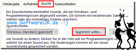Windows-10 Soundsschema Speichern!
