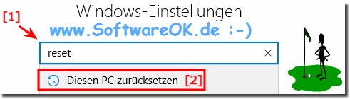 Windows 10 Reset Machen!