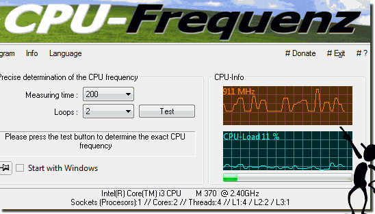 CPU Frequenz bei Windows 10 sollte Variabel sein!