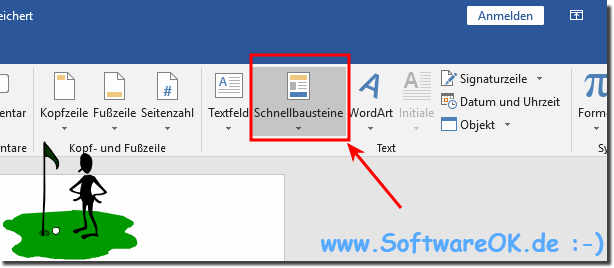 Auto-Text in MS Word 365!