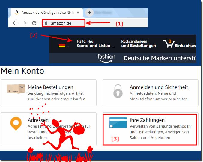 amazon von kreditkarte wieder zu bankeinzug geht nicht site www.amazon.de