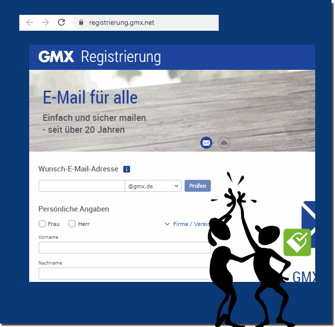 www gmx at registrieren