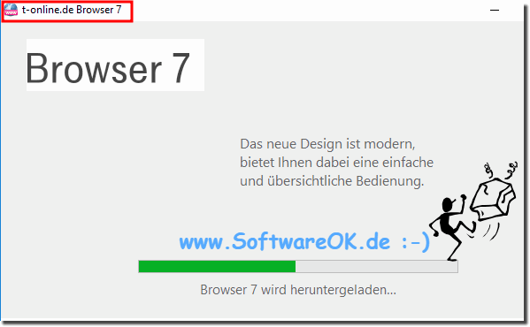 T-Online Browser 7 unter Windows-10!