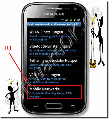 Daten-Roaming am Samsung Galaxy abstellen!