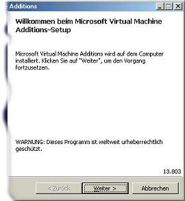 Virtual Machine Additions