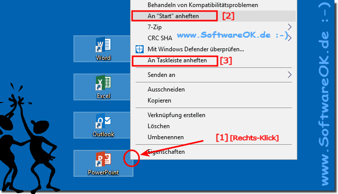 Microsoft Office 365 Im Windows 10 Start-Menü