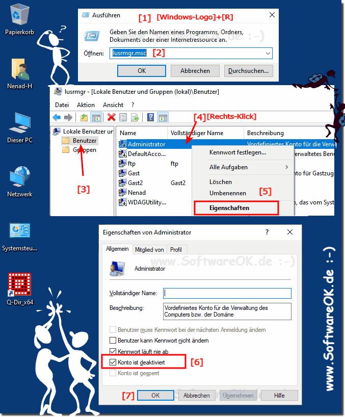 Windows 10 Vollzugriff