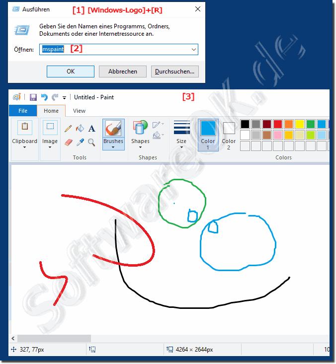 Wo Ist Paint In Windows 10 Wie Kann Ich Es Ffnen