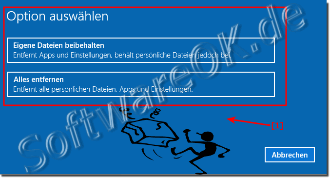 Windows 10 Alles Entfernen!