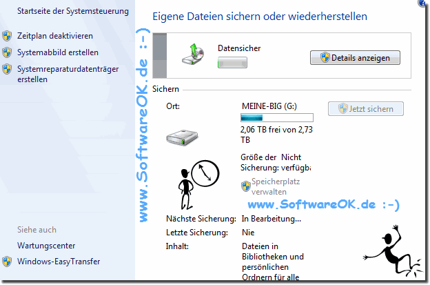 Automatische Backups in Windows-7!