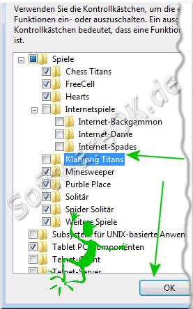 Windows 7 Spiele einzeln deaktivieren