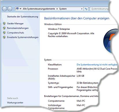 Die verwendete edition von windows 7 ermitteln wie geht man da vor