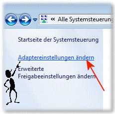 Netzwerk-Adaptereinstellungen �ndern in Windows-7!