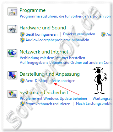 Aero Desktopeffekte anzeigen in Windows-7!