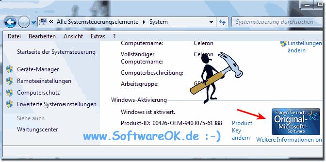 windows aktivierung status nicht verfuegbar