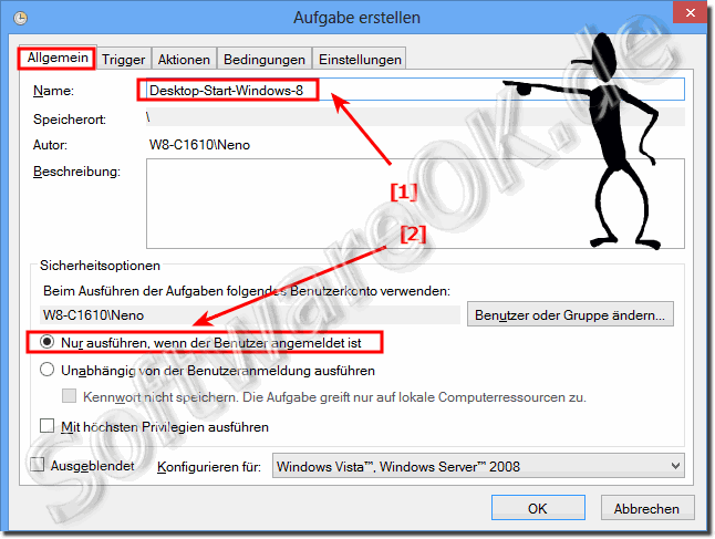 Aufgabe erstellen Desktop-Start-Windows-8