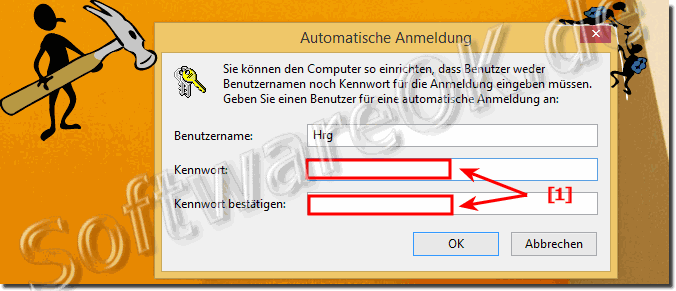 Auto Login in Windows 8 ohne Kennworteingabe