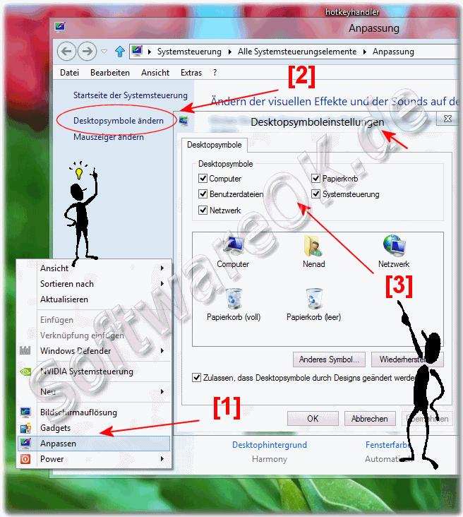 win 10 arbeitsplatz auf desktop anzeigen