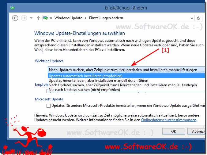 neue updates installieren