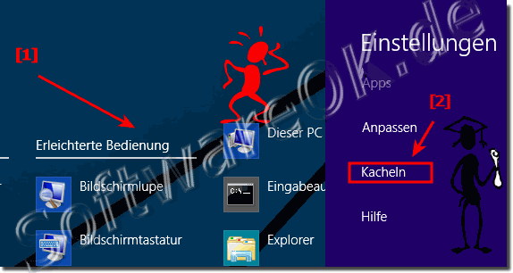 Windows 8.1 Verwaltungs Tools in den  Start Kacheln!