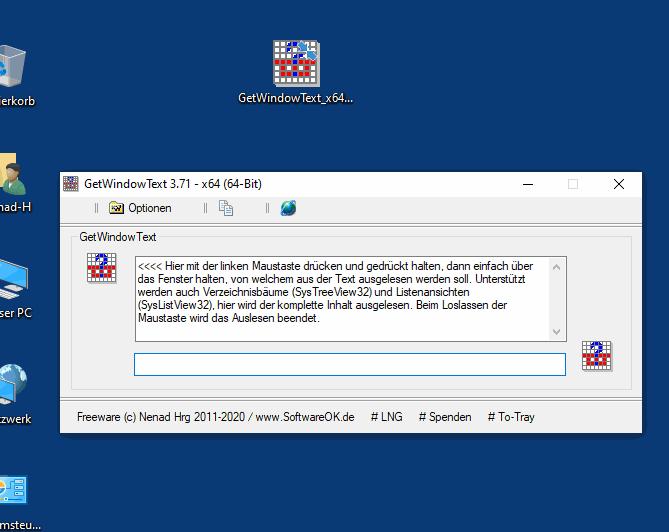 GetWindowText