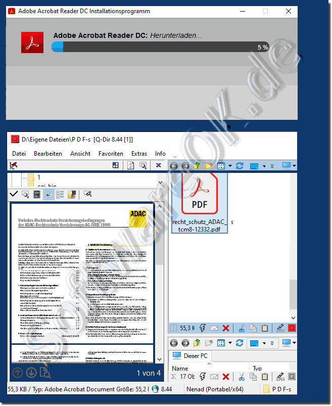 Acrobat Reader der PDF-Viewer kostenloser Download!