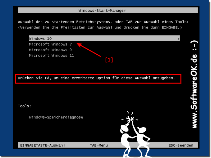 Boot-Loader Windows 10 umstellen!
