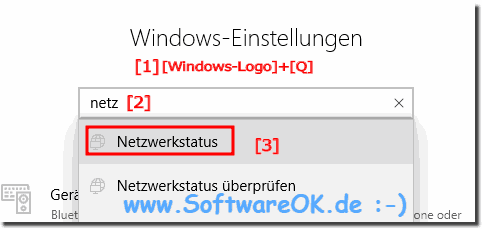 Windows: Adaptereinstellungen finden!
