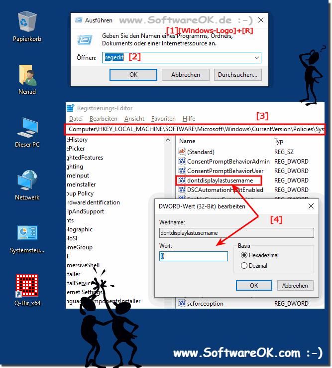 Windows 10 Klassische Anmeldung