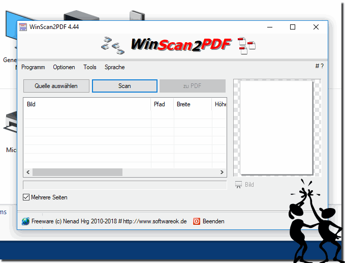 Win-Scan-2-PDF  auch unter Windows 10!