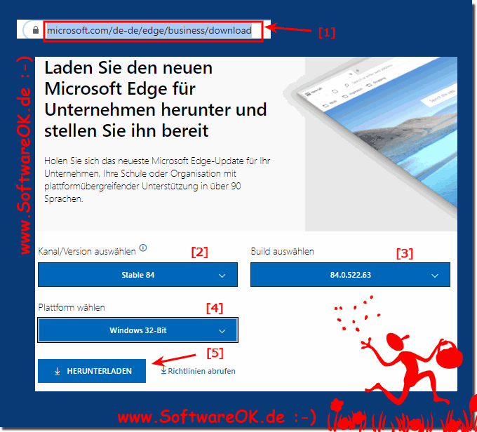 Offline-Installationsprogramm für Chromium Edge Downloaden!