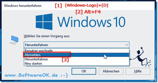 Tastenkombination Windows 10