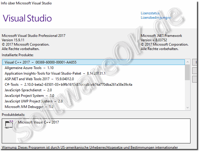 Microsoft Visual Studio 2010 Professional-Testversion, 30 bis 90 Tage!