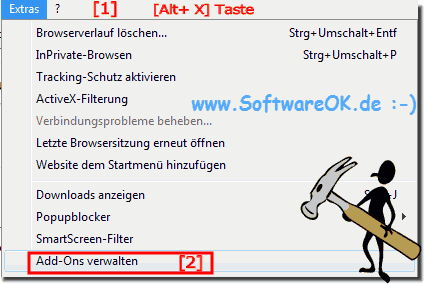 Internet Autokorrektur Optionen im IE11!