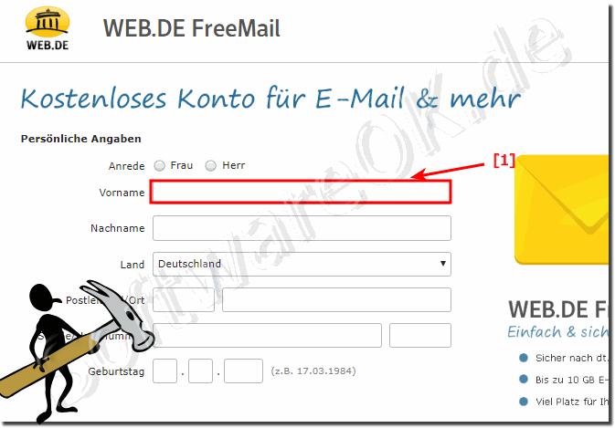 e mail kostenlos anmelden