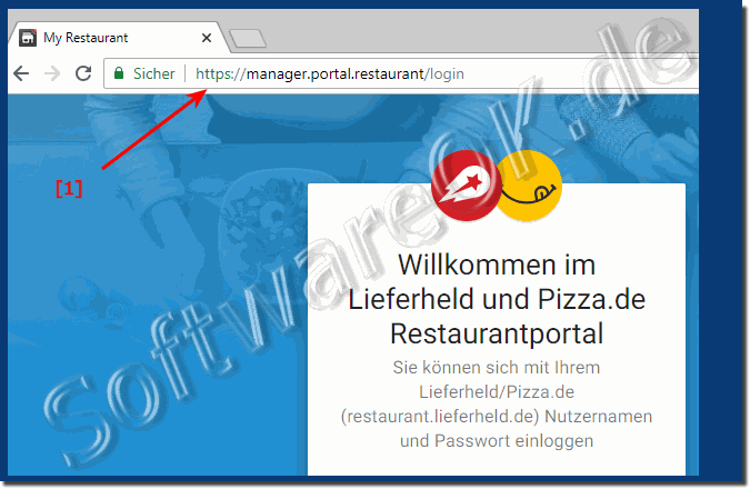 Restaurants  login Rechnungen!