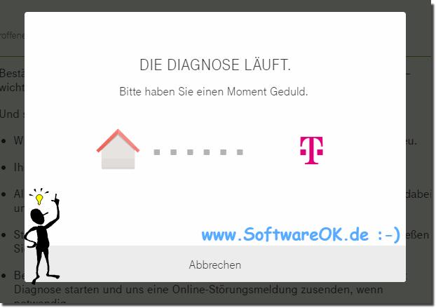 Hilfe Bei Störungen Telekom Dsl Internet Telefon Aber Wo