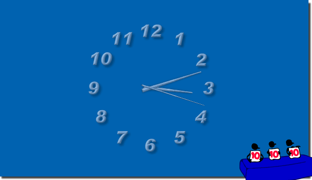 Top Aero Desktop Clock on Windows!