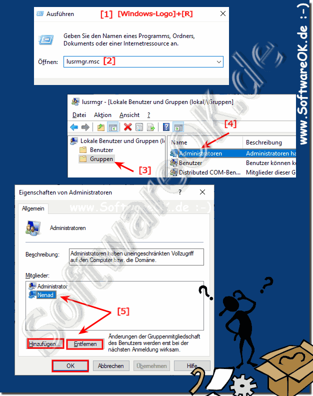 Administrator hinzufügen in Windows 10!
