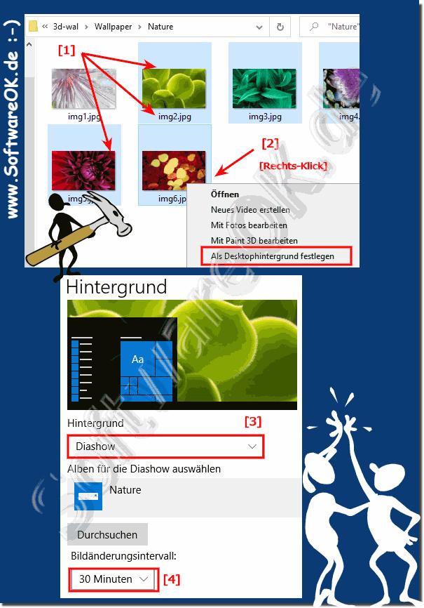 Windows 10 desktop hintergrundbild speicherort