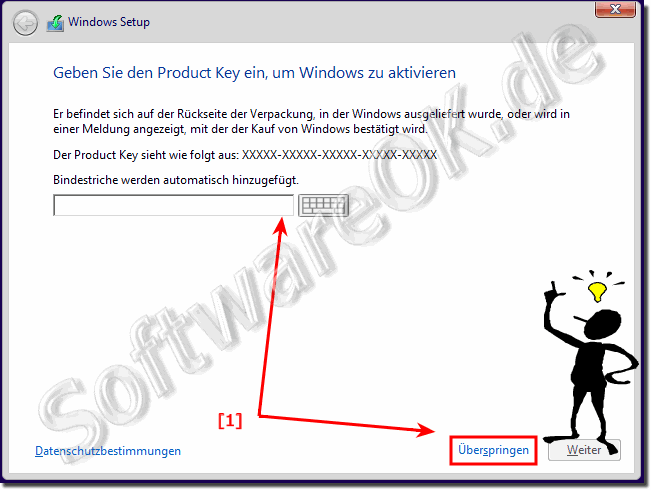 Ohne Produkt Key Windows-10 Installieren!