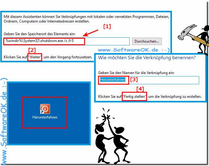 Wie kann ich Windows-10 wirklich Ausschalten / Herunterfahren?