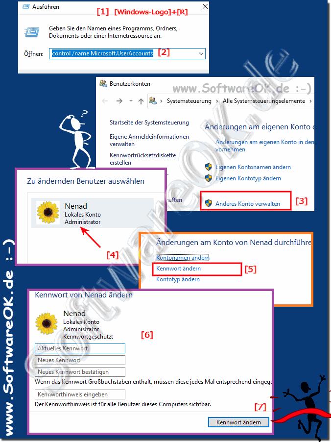 Passwort 10 login ohne How to