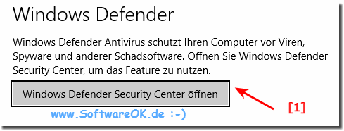 Windows 10 Sicherheits Center!