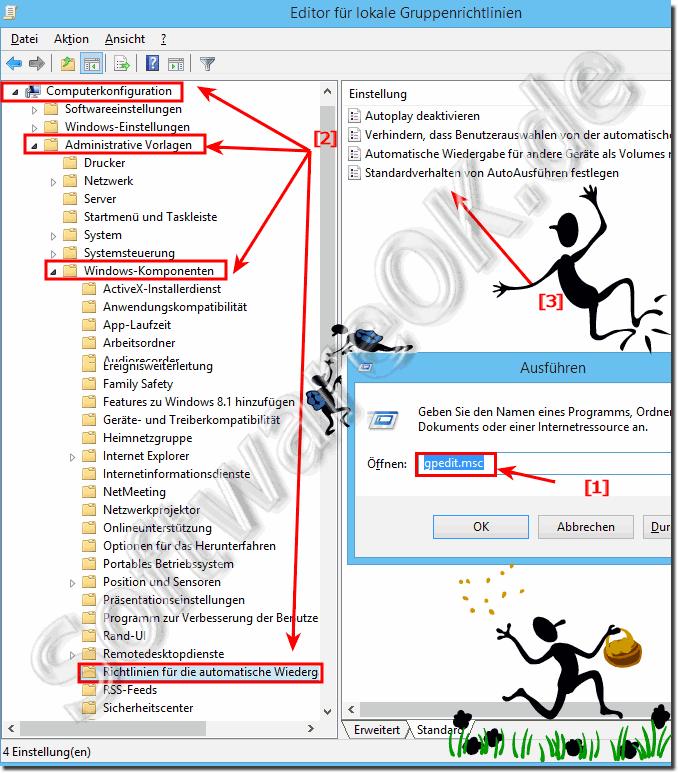 Automatische Wiedergabe Für Alle Benutzer Deaktivieren In Windows