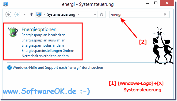 Energiesparmodus anpassen in Windows!
