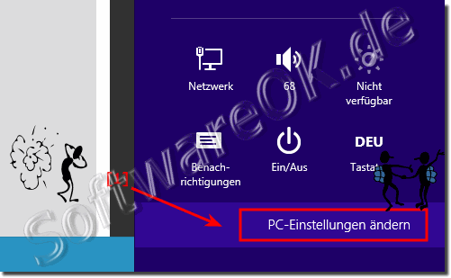 PC Einstellungen ändern Windows 8.1/10!