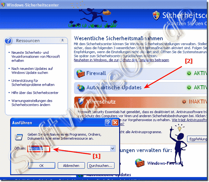 Auto-Updates und Sicherheit in Windows-XP!
